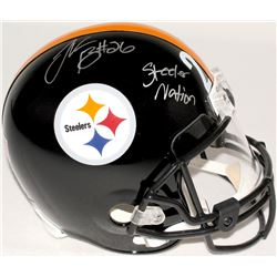 "Le'Veon Bell Signed Steelers Full-Size Helmet Inscribed ""Steeler Nation"" (TSE COA)"