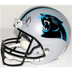 Josh Norman Signed Panthers Full-Size Helmet (JSA COA)