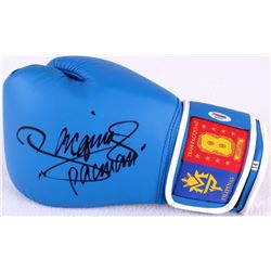"Manny Pacquiao Signed Boxing Glove Inscribed ""Pacman"" (PSA COA)"