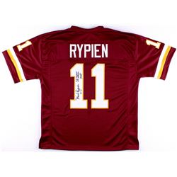 "Mark Rypien Signed Redskins Jersey Inscribed ""SB XXVI MVP"" (JSA COA)"