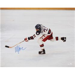 "Mike Eruzione Signed Team USA ""Miracle on Ice"" 16x20 Photo (JSA COA)"
