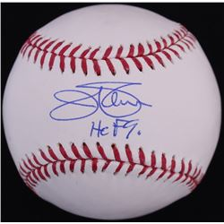 "Jim Palmer Signed OML Baseball Inscribed ""HOF 90"" (JSA COA)"