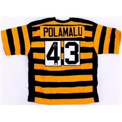 Troy Polamalu Signed Steelers Jersey (JSA Hologram)