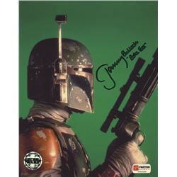 "Jeremy Bulloch Signed Star Wars 8x10 Photo Inscribed ""Boba Fett"" (PA COA)"