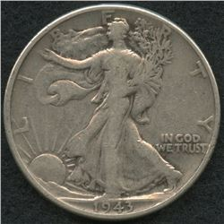 1943 Walking Liberty Silver Half Dollar