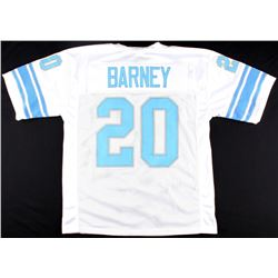 Lem Barney Lions On-Field Style Custom Stitched Jersey (Size XL)