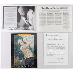"Jack Nicklaus ""Golden Bear"" Limited Edition 9x12 Print by Artist Rick Rush"
