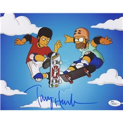 "Tony Hawk Signed ""The Simpsons"" 8x10 Photo (JSA COA)"