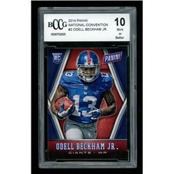Odell Beckham Jr. 2014 Panini National Convention #2 (BCCG 10)