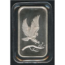 1 Troy Oz. SilverTowne Eagle .999 Silver Bar