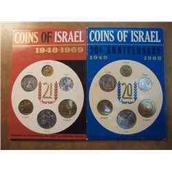 1968 & 1969 JERUSALEM SPECIMEN SETS ORIGINAL MINT PACKAGING