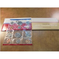1986 & 1987 US MINT SETS P/D (WITH ENVELOPES) 1986 IS SEALED