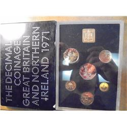 1971 GREAT BRITAIN AND NORTHERN IRELAND PROOF SET ORIGINAL ROYAL MINT PACKAGING