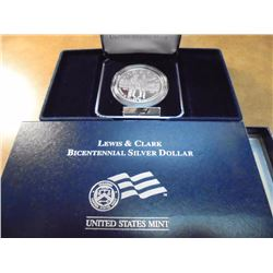 2004-P LEWIS & CLARK PROOF SILVER DOLLAR ORIGINAL US MINT PACKAGING