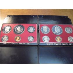 1977 & 1979 US PROOF SETS (WITH BOXES)