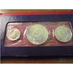 1976-S US BICENTENNIAL SILVER UNC SET, ORIGINAL US MINT PACKAGING