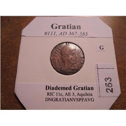 367-385 A.D. GRATIAN ANCIENT COIN