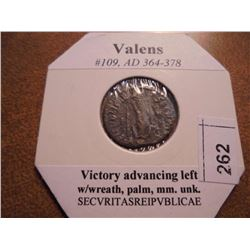 364-378 A.D. VALENS ANCIENT COIN