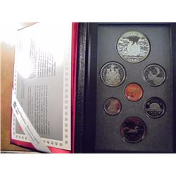 1989 CANADA DOUBLE DOLLAR PROOF SET MACKENZIE RIVER, ORIGINAL ROYAL CANADIAN MINT PACKAGING