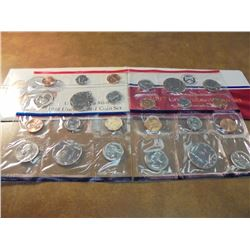 1987 & 1988 US MINT SETS P/D (WITH ENVELOPES)