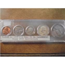 1950 US YEAR SET AS SHOWN