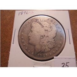 1896-S MORGAN SILVER DOLLAR BETTER DATE COIN