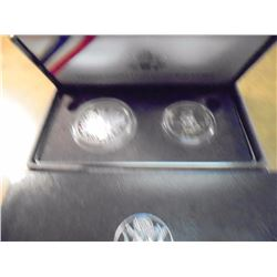 1989-S US CONGRESSIONAL 2 COIN PROOF SET ORIGINAL US MINT PACKAGING