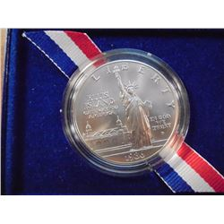1976-P STATUE OF LIBERTY SILVER DOLLAR UNC ORIGINAL US MINT PACKAGING