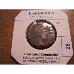 177-192 A.D. COMMODUS ANCIENT COIN VERY FINE