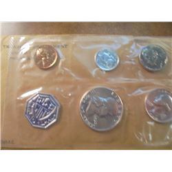 1960 SILVER US PROOF SET (WITH ENVELOPE)