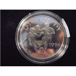 1994-D WORLD CUP SILVER DOLLAR UNC