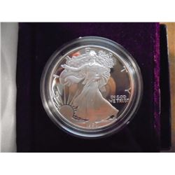 1990-S AMERICAN SILVER EAGLE PROOF ORIGINAL US MINT PACKAGING