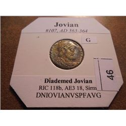 363-364 A.D. JOVIAN ANCIENT COIN