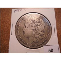 1894-S MORGAN SILVER DOLLAR BETTER DATE