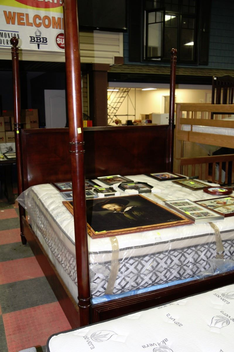 New King Size 4 Post Bed Kastner Auctions
