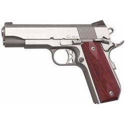 "*NEW* Dan Wesson Commander Classic Bobtail 45 ACP 4.3"" 8+1 Wood Grips SS 806703019123"