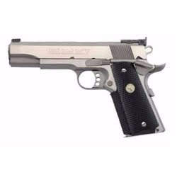 "*NEW* COLT GOLD CUP TROPHY 45 ACP 5"" 8+1 BLACK RUBBER GRIP SS 098289041067"