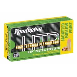 *AMMO* Remington HTP 9mm 115GR Jacketed Hollow Point (300 ROUNDS) 047700426501
