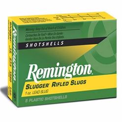 "^AMMO^ Remington Slugger Rifled Slugs 12ga 3"" 1oz (250 ROUNDS) UPC 047700029702"