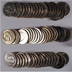 (60) BU EISENHOWER DOLLARS DATES COULD RANGE FROM 1974-1978
