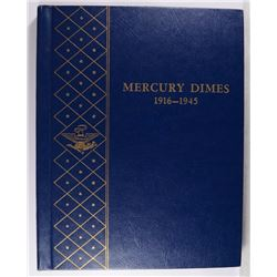 NICE SET OF MERCURY DIMES 1916-1945 MISSING ONLY 1916-D & 1942/1