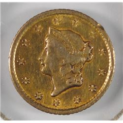 1852-O $1 LIBERTY GOLD DOLLAR  XF SCARCE