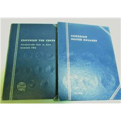 Previously Used Collector Books - 2 Canadian Coin Books