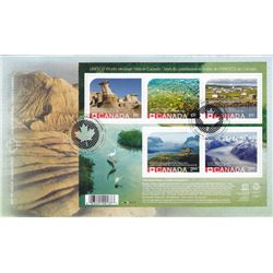 UNESCO World Heritage Sites In Canada ERROR Stamps Day Of Issue Envelope
