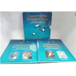 Canada On The Wing - Birds Of Canada - 50-Cent Coin Set By Royal Canadian Mint