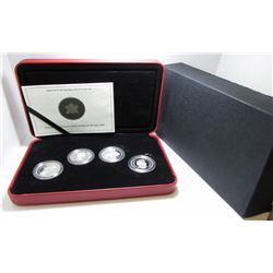 2004 Canada 50-Cent Sterling Silver Coin Set By RCM