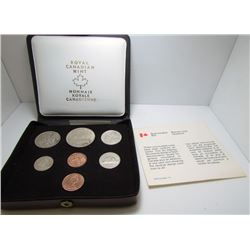 1978 Canada Double Penny Uncirculated Coin Set By RCM