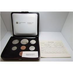 1979 Canada Double Penny Uncirculated Coin Set By RCM