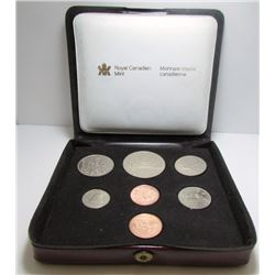 1980 Canada Double Penny Coin Set By RCM