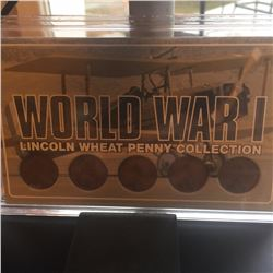 WW1 wheat penny collection